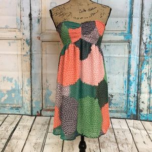 Roxy Strapless Dress Size Medium